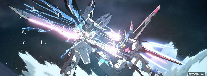 Photo anime gundam Facebook Cover for Free