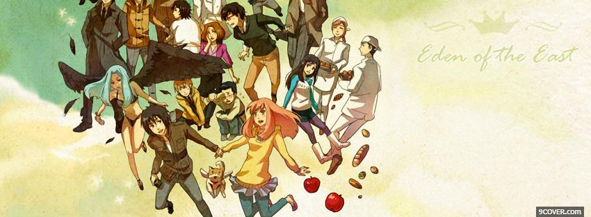 Photo eden of the east in the clouds Facebook Cover for Free