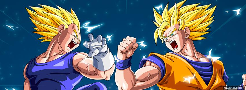 Photo manga dragon ball z kai Facebook Cover for Free