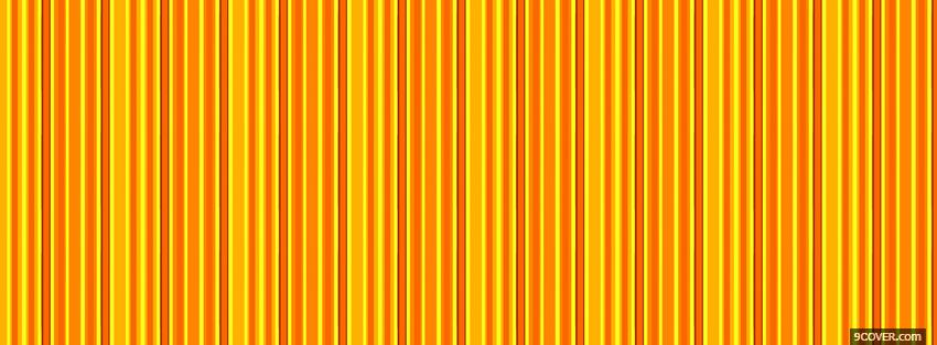 Photo orange and yellow abstract Facebook Cover for Free