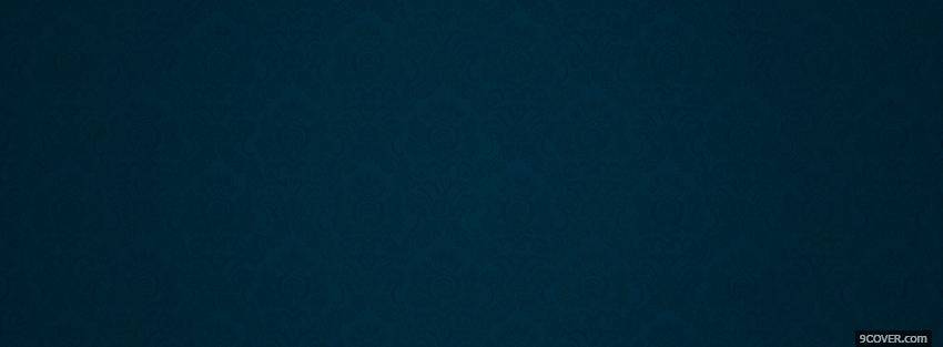 Photo dark blue pattern abstract Facebook Cover for Free