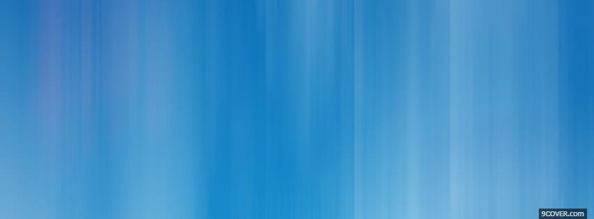 Photo smooth abstract blue Facebook Cover for Free