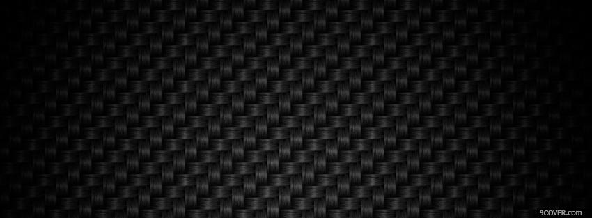Photo black abstract texture Facebook Cover for Free