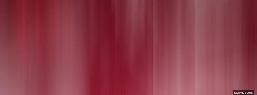 Photo lovely red abstract Facebook Cover for Free
