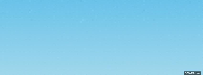 Photo abstract gradient blue Facebook Cover for Free