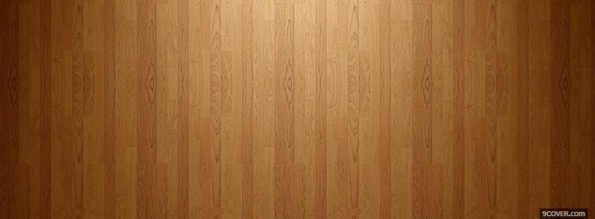 Photo wooden brown floor Facebook Cover for Free