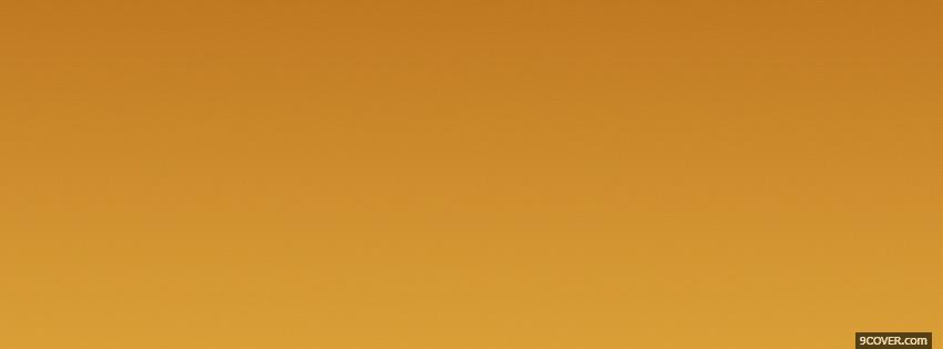Photo abstract gradient orange Facebook Cover for Free