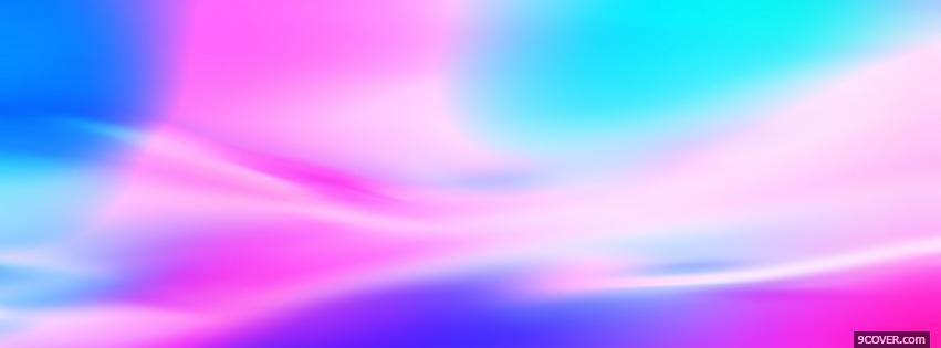 Photo pink and blue texture Facebook Cover for Free