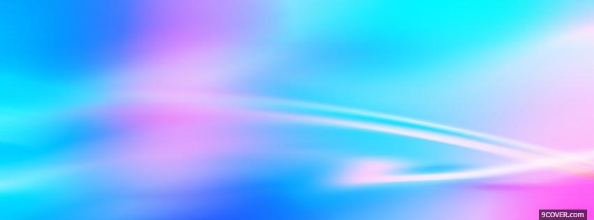 Photo amazing blue and fusia sky Facebook Cover for Free