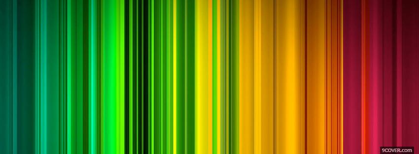 Photo bright abstract colours Facebook Cover for Free