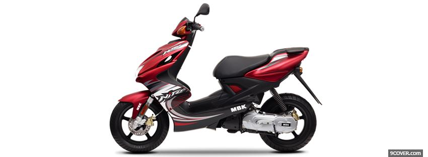 Photo side yamaha aerox 2011 Facebook Cover for Free