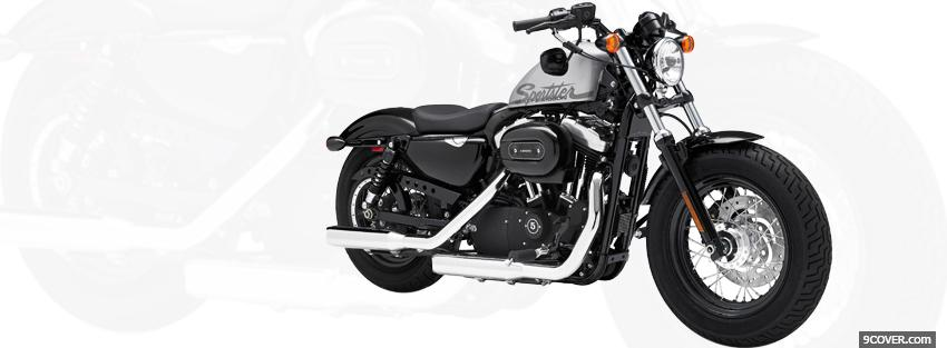Photo harley davidson forty eight Facebook Cover for Free