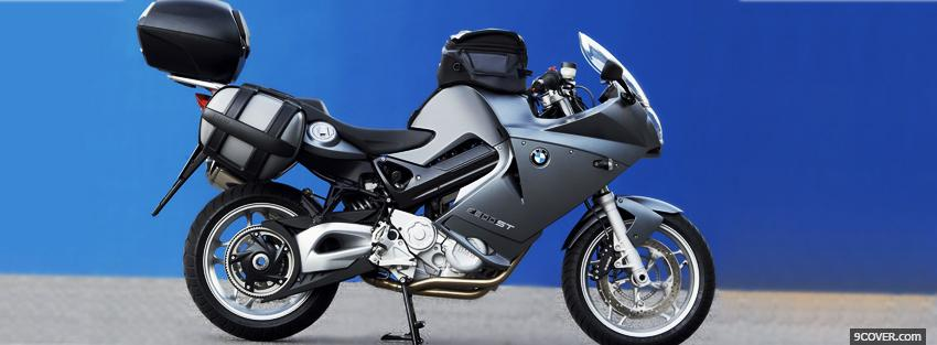 Photo side bmw f800st moto Facebook Cover for Free