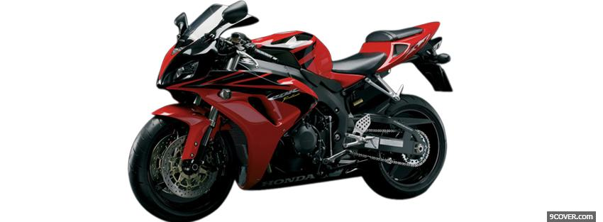 Photo honda cbr 1000 rr moto Facebook Cover for Free