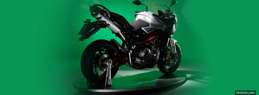 Photo green tre k moto Facebook Cover for Free