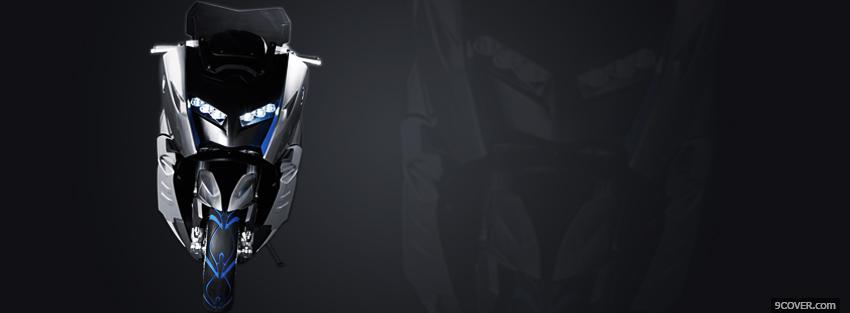 Photo bmw scooter moto Facebook Cover for Free