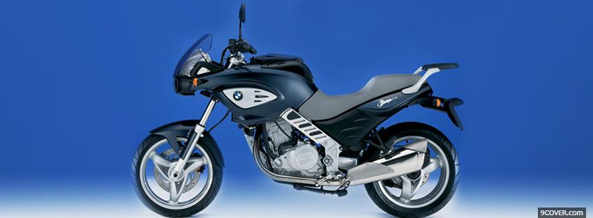Photo bmw f650cs moto Facebook Cover for Free