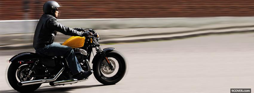 Photo harley davidson sportster 2012 Facebook Cover for Free