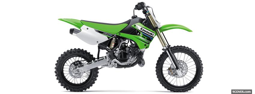 Photo kx 85 2012 moto Facebook Cover for Free