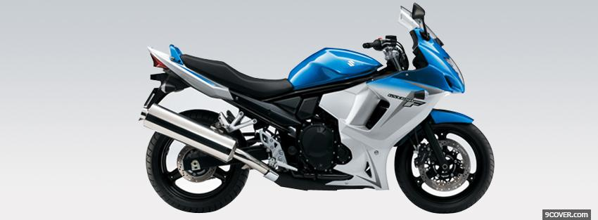 Photo suzuki gsx 650f moto Facebook Cover for Free