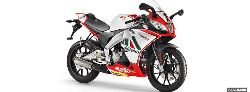 Photo replica aprilia moto Facebook Cover for Free