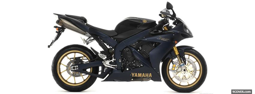 Photo side yamaha r1 moto Facebook Cover for Free