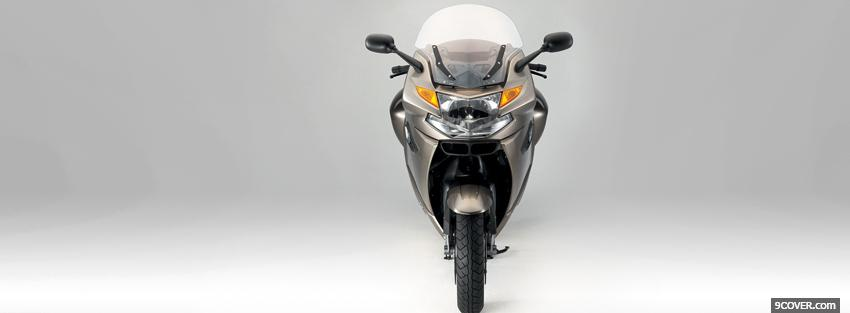 Photo front bmw k gt moto Facebook Cover for Free
