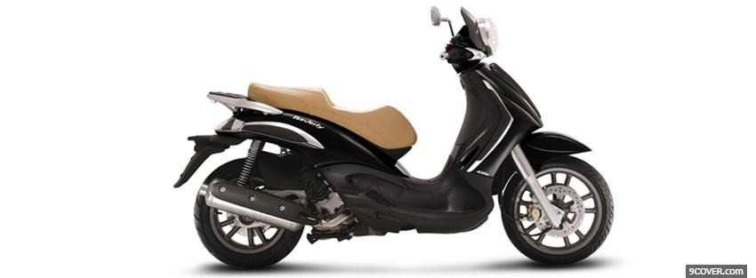 Photo piaggio beverly moto Facebook Cover for Free