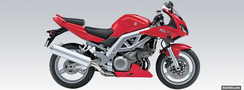 Photo suzuki sv1000 moto Facebook Cover for Free