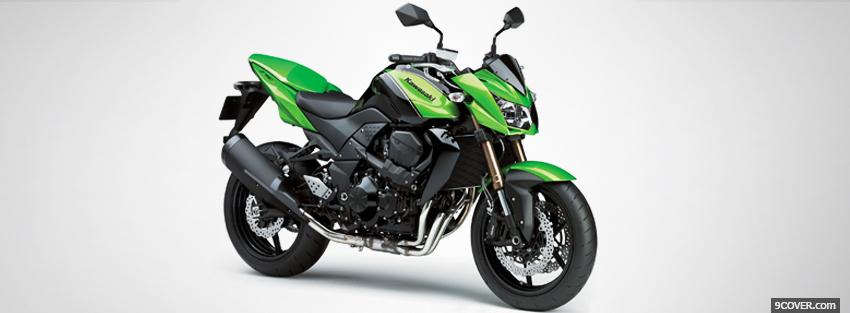 Photo kawasaki z750r 2011 moto Facebook Cover for Free
