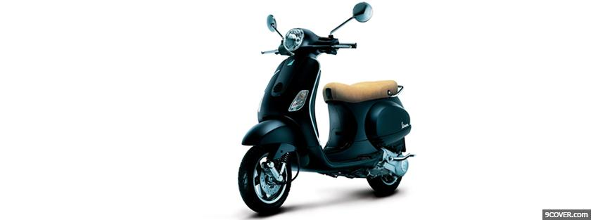 Photo vespa lx moto Facebook Cover for Free