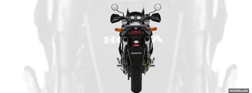 Photo honda varadero moto Facebook Cover for Free