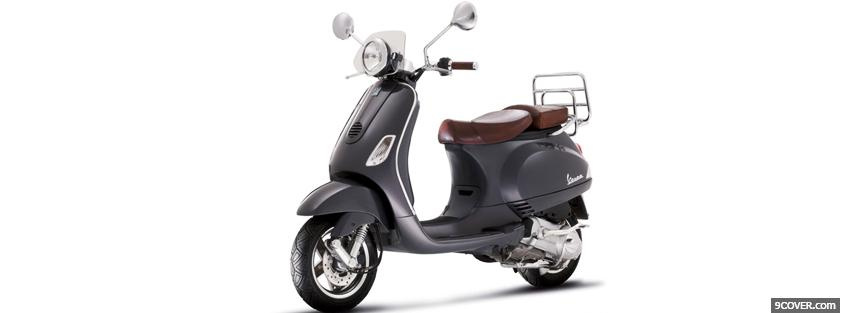 Photo vespa lxv 50 scooter Facebook Cover for Free