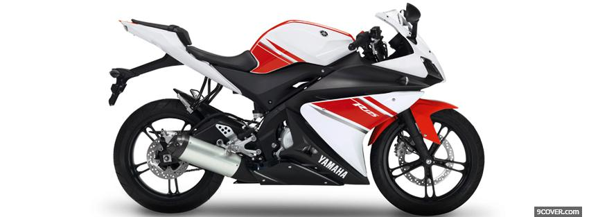 Photo yamaha r125 moto Facebook Cover for Free