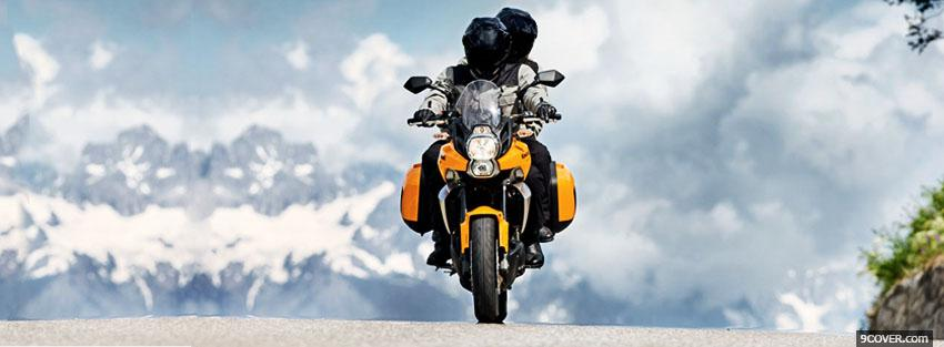 Photo kawasaki versys 2010 Facebook Cover for Free