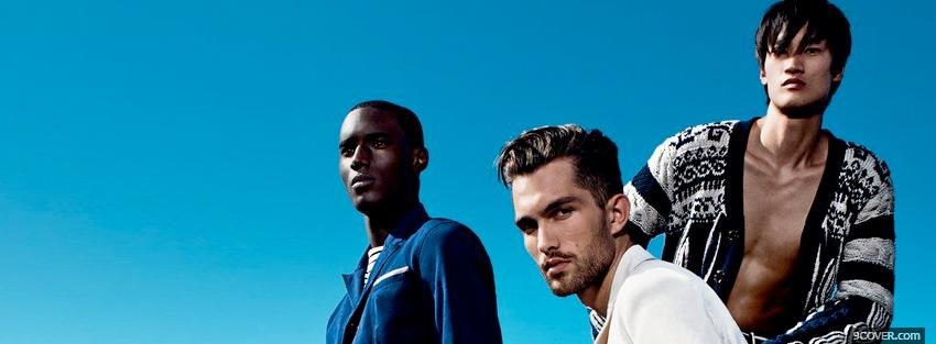 Photo kenzo mens collection 2011 Facebook Cover for Free