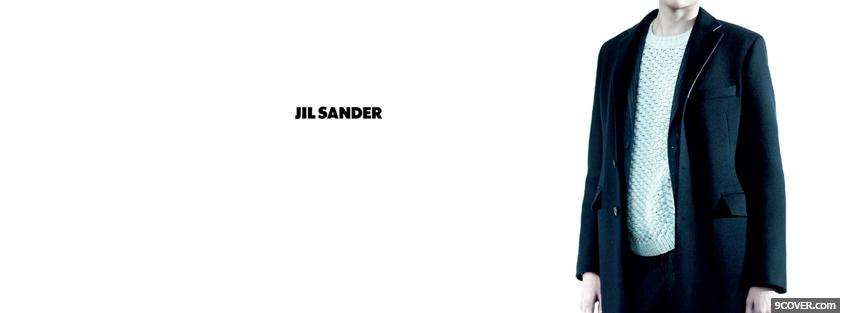 Photo fashion clothes jil sander Facebook Cover for Free