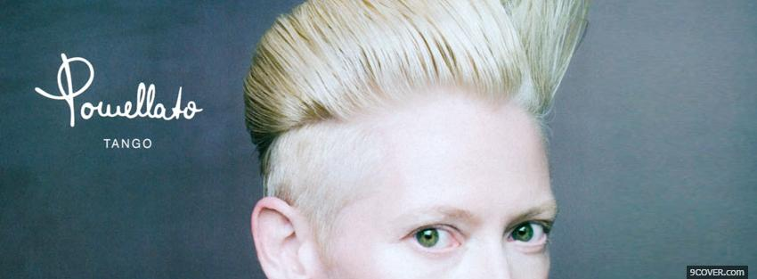 Photo fashion tilda swinton Facebook Cover for Free