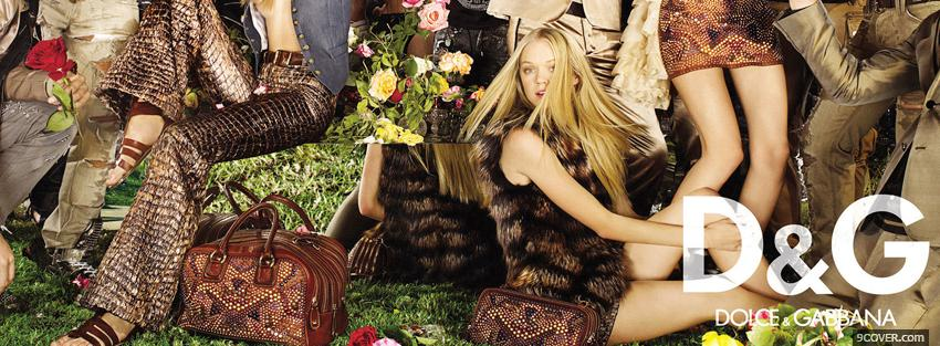 Photo dolce and gabana fashion collection Facebook Cover for Free