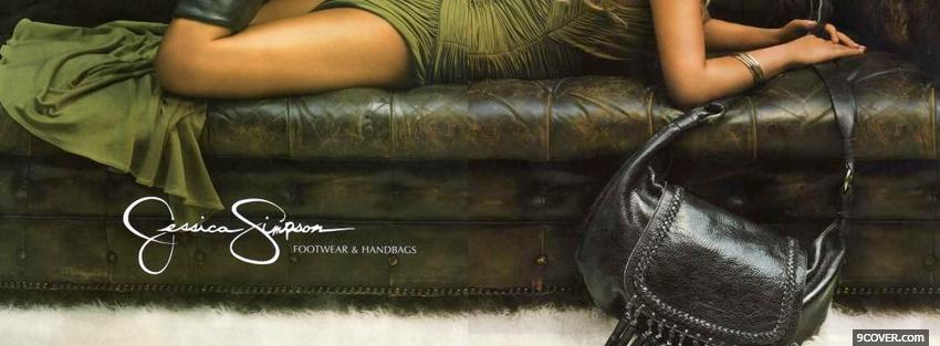 Photo jessica simpson footwear handbags Facebook Cover for Free
