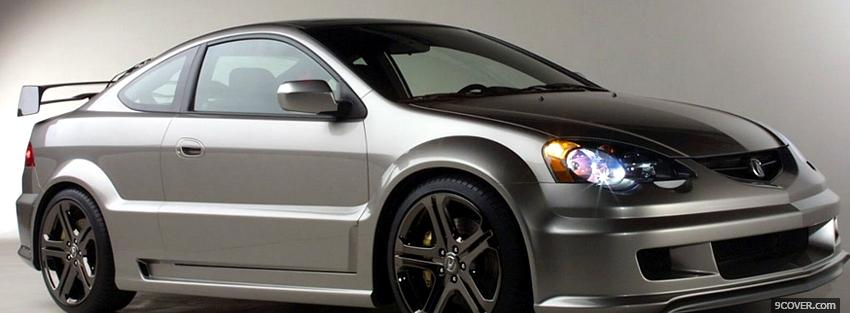 Photo 2007 acura rsx car Facebook Cover for Free