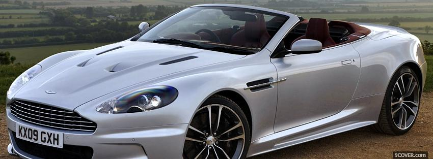 Photo aston martin dbs volante car Facebook Cover for Free