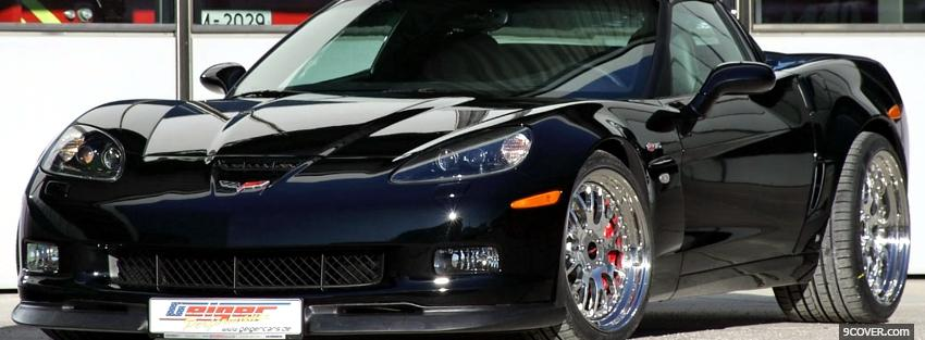 Photo corvette z06 car Facebook Cover for Free