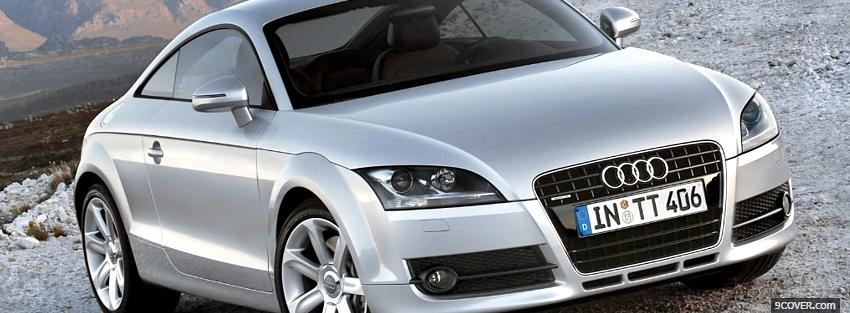 Photo audi tt car Facebook Cover for Free