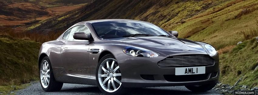 Photo 2013 aston martin db9 car Facebook Cover for Free