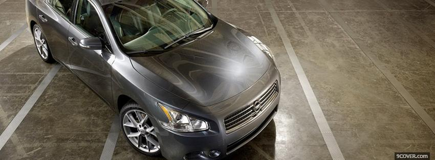 Photo 2011 nissan maxima car Facebook Cover for Free