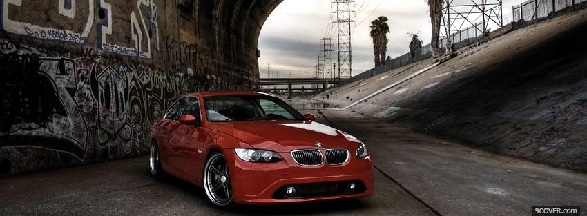 Photo biturbo bmw car Facebook Cover for Free
