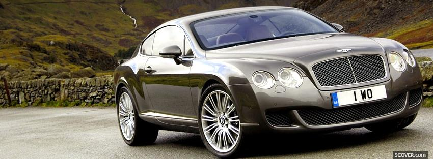Photo outdoors bentley continental Facebook Cover for Free