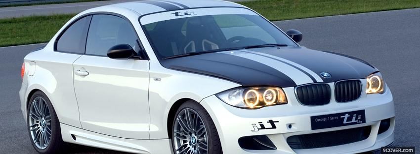 Photo bmw 1 series tii car Facebook Cover for Free