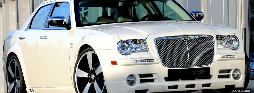 Photo chrysler 300c car Facebook Cover for Free